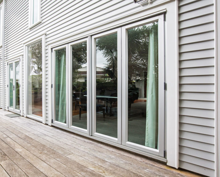Deck and doors